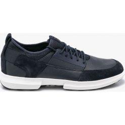 Geox - Buty. Czarne buty skate męskie Geox, z materiału. W wyprzedaży za 359,90 zł.
