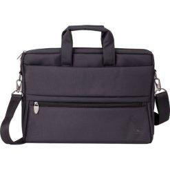 """Torba RivaCase do laptopa 15.6"""" Czarna. Czarne torby na laptopa marki RivaCase. Za 134,00 zł."""