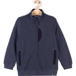 Bluza. Szare bluzy chłopięce rozpinane marki BASIC BOY, z bawełny, z długim rękawem, długie. Za 44,90 zł.
