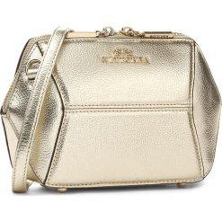 Torebka WITTCHEN - 85-4E-427-G Złoty. Żółte torebki klasyczne damskie Wittchen. W wyprzedaży za 259,00 zł.