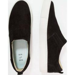 Tenisówki męskie: Shoe The Bear ADAM Półbuty wsuwane black