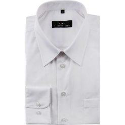 Koszula LORENZO 012. Białe koszule męskie na spinki marki bonprix, z klasycznym kołnierzykiem. Za 99,00 zł.