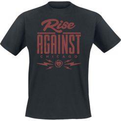 T-shirty męskie z nadrukiem: Rise Against Type T-Shirt czarny