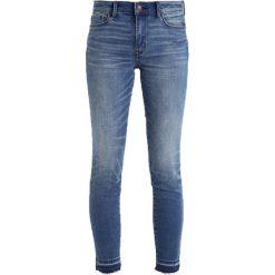 Abercrombie & Fitch Jeans Skinny Fit medium. Niebieskie jeansy damskie Abercrombie & Fitch, z bawełny. Za 369,00 zł.