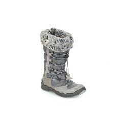 Śniegowce Dziecko Primigi  MATRIX GORE-TEX. Czarne kozaki dziewczęce marki ecco, z gore-texu, na sznurówki. Za 429,00 zł.