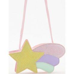 Torebki klasyczne damskie: Torebka w kształcie gwiazdy – Różowy
