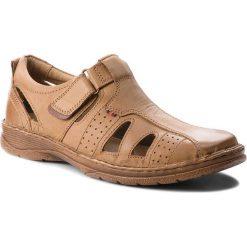 Sandały LASOCKI FOR MEN - MI18-276-05 Beżowy. Brązowe sandały męskie skórzane Lasocki For Men. W wyprzedaży za 149,99 zł.
