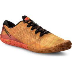 Buty MERRELL - Vapor Glove 3 J12613 Saffron. Brązowe buty do biegania męskie Merrell, z materiału. W wyprzedaży za 229,00 zł.
