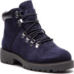 Trapery VAGABOND - Kenova 4457-040-67 Indigo. Niebieskie buty zimowe damskie marki Vagabond, ze skóry. Za 549,00 zł.