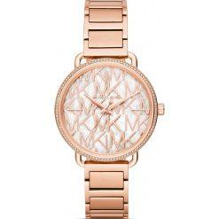 Zegarek MICHAEL KORS - Portia MK3887 Rose Gold/Rose Gold. Czerwone zegarki damskie Michael Kors. Za 1295,00 zł.
