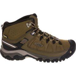Buty trekkingowe męskie: Keen Buty męskie Targhee EXP Mid WP Dark Olive/Black Olive r. 44.5 (117716)