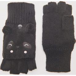 Rękawiczki typu mitenki - Czarny. Czarne rękawiczki damskie House. Za 35,99 zł.