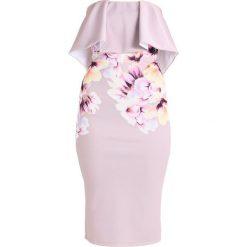 Sukienki hiszpanki: True Violet ROME FRILL DETAIL DRESS Sukienka etui lilac