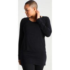 YOGA CURVES Bluzka z długim rękawem black. Czarne bluzki longsleeves YOGA CURVES, z elastanu, sportowe. Za 199,00 zł.