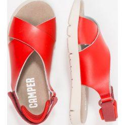 Camper MIRA SANDAL Sandały medium red. Czerwone sandały chłopięce Camper, z materiału. Za 209,00 zł.