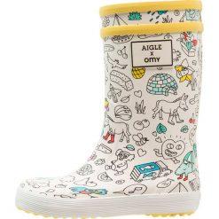 Aigle LOLLY POP OMY Kalosze omyprint. Szare buty zimowe damskie Aigle, z kauczuku. Za 159,00 zł.