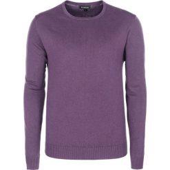 Swetry klasyczne męskie: Sweter w kolorze fioletowym