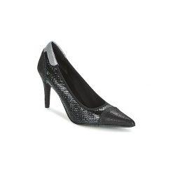 Czółenka Elizabeth Stuart  LUCOR. Czarne buty ślubne damskie Elizabeth Stuart. Za 461,30 zł.