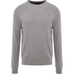 Polo Ralph Lauren LORYELLE Sweter fawn grey heather. Szare swetry klasyczne męskie Polo Ralph Lauren, m, z wełny, polo. Za 669,00 zł.