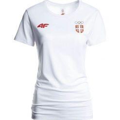 T-shirty damskie: Koszulka funkcyjna damska Serbia Pyeongchang 2018 TSDF700 – biały