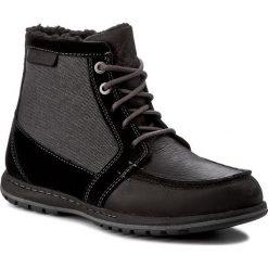 Kozaki COLUMBIA - Davenport Pdx Waterproof Omni-Heat BM1695  Black/Dark Fog 010. Czarne buty zimowe męskie Columbia, z materiału. W wyprzedaży za 379,00 zł.