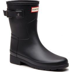 Kalosze HUNTER - Original Refined Short WFS1098RMA Black. Czarne buty zimowe damskie Hunter, z kauczuku. Za 599,00 zł.
