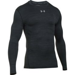 Koszulki do fitnessu męskie: Under Armour Koszulka Sportowa Cg Armour Twist Crew Black Steel Xl