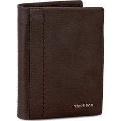 Duży Portfel Męski STRELLSON - Walker 4010001796 Dark Brown 702. Brązowe portfele męskie marki Strellson, ze skóry. W wyprzedaży za 159,00 zł.