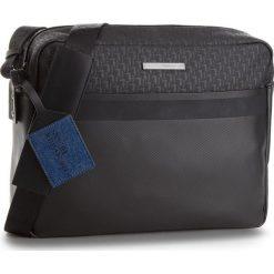 Torba na laptopa TRUSSARDI JEANS - Bocconi Messanger 71B00079 K299. Czarne torby na laptopa marki Trussardi Jeans, z jeansu. W wyprzedaży za 379,00 zł.