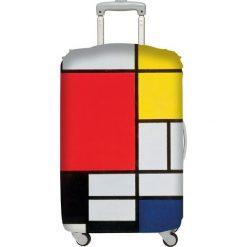 Walizki: Pokrowiec na walizkę LOQI Museum Piet Mondrian