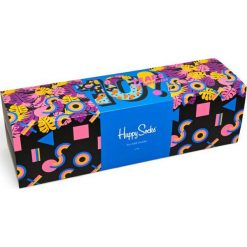 Happy Socks - Skarpety Year. Szare skarpetki męskie Happy Socks, z bawełny. Za 399,90 zł.