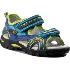Sandały BARTEK - 16113-64H Niebieski. Niebieskie sandały męskie skórzane Bartek. W wyprzedaży za 149,00 zł.