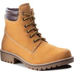 Trapery MARCO TOZZI - 2-26248-31 Corn/Mocca 388. Brązowe buty zimowe damskie Marco Tozzi, z nubiku. Za 239,90 zł.