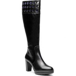 Kozaki CALLAGHAN - Sierra Antic 23707 Negro. Czarne buty zimowe damskie Callaghan, z materiału, przed kolano, na wysokim obcasie, na obcasie. Za 719,00 zł.
