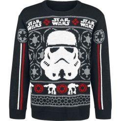 Swetry męskie: Star Wars Classic Trooper Sweter z dzianiny wielokolorowy