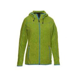 Bluzy rozpinane damskie: KILLTEC Bluza damska Agda zielono-niebieska r.48 (26490D)