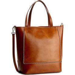 Torebka CREOLE - RBI10138 Koniak. Brązowe torebki klasyczne damskie Creole, ze skóry, duże. W wyprzedaży za 249,00 zł.