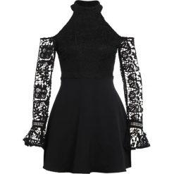 Sukienki: Missguided COLD SHOULDER SKATER Sukienka koktajlowa black
