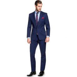 Garnitur MARCUS GXGE900032. Niebieskie garnitury Giacomo Conti, z wełny. Za 1198,00 zł.