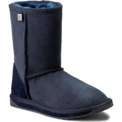 Buty EMU AUSTRALIA - Platinum Stinger Lo WP10002 Indigo. Niebieskie buty zimowe damskie marki EMU Australia, ze skóry, na niskim obcasie. W wyprzedaży za 439,00 zł.