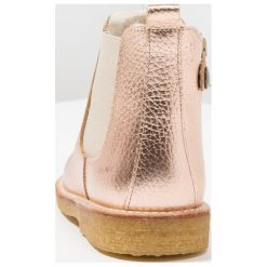 Buty zimowe damskie: ANGULUS BOOT LINED, ELASTIC & ZIP Botki light copper/beige