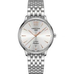 PROMOCJA ZEGAREK CERTINA DS Dream C021.810.11.037.00. Szare zegarki damskie CERTINA, ze stali. W wyprzedaży za 1522,40 zł.
