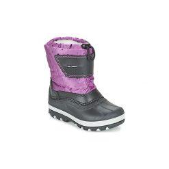 Śniegowce Dziecko Citrouille et Compagnie  FIZKO. Szare buty zimowe chłopięce marki Citrouille et Compagnie. Za 159,20 zł.