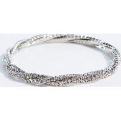 Bransoletki damskie: Elegancka bransoletka – Srebrny