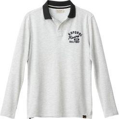 Koszulki polo: Gładka koszulka polo z długim rękawem