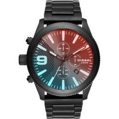 Zegarek DIESEL - Rasp Chrono 50MM DZ4447  Black/Black. Czarne zegarki męskie Diesel. Za 1059,00 zł.