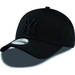 New Era - Czapka League Bas New York Yankees. Czarne czapki z daszkiem męskie New Era, z bawełny. W wyprzedaży za 99,90 zł.