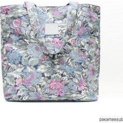 Shopper bag damskie: Torebka Frida Niebieska