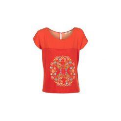 T-shirty z krótkim rękawem Desigual  RICOL. Szare t-shirty damskie marki Desigual, l, z tkaniny, casualowe, z długim rękawem. Za 161,85 zł.