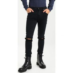 Dr.Denim LEROY Jeans Skinny Fit wrecking black. Czarne jeansy męskie Dr.Denim. Za 299,00 zł.